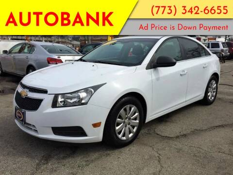 2011 Chevrolet Cruze for sale at AutoBank in Chicago IL