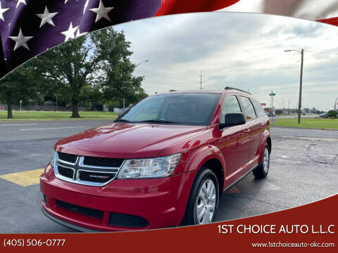 2016 Dodge Journey for sale at 1st Choice Auto L.L.C in Oklahoma City OK