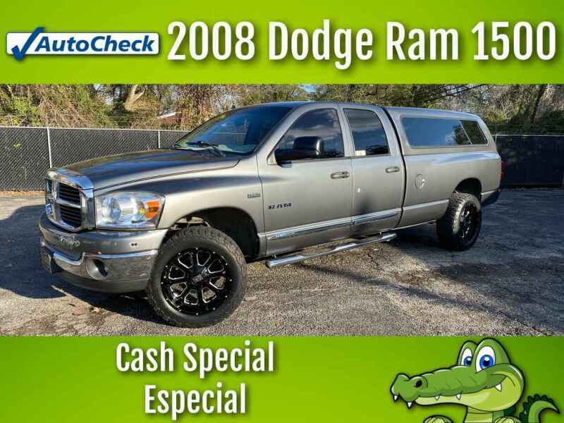 2008 Dodge Ram Pickup 1500 for sale at LIQUIDATORS in Houston TX