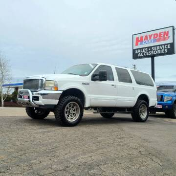 2000 Ford Excursion for sale at Hayden Cars in Coeur D Alene ID