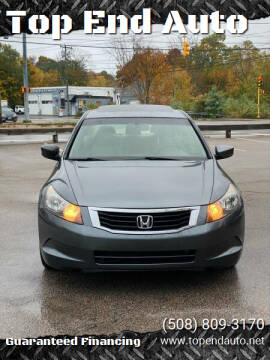 2008 Honda Accord for sale at Top End Auto in North Atteboro MA