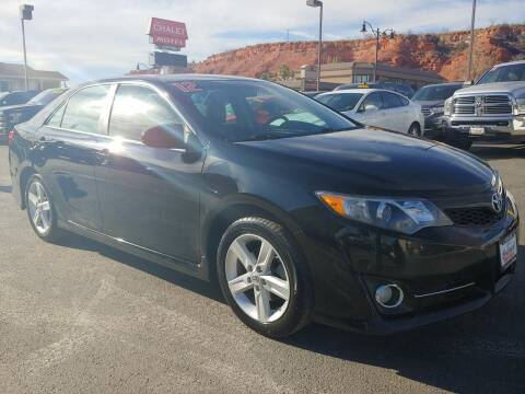2012 Toyota Camry for sale at Boulevard Motors in St George UT