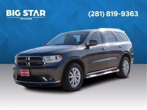 2019 Dodge Durango for sale at BIG STAR HYUNDAI in Houston TX