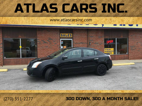 2008 Nissan Sentra for sale at Atlas Cars Inc. - Elizabethtown Lot in Elizabethtown KY