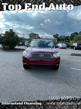 2008 Toyota Highlander for sale at Top End Auto in North Attleboro MA