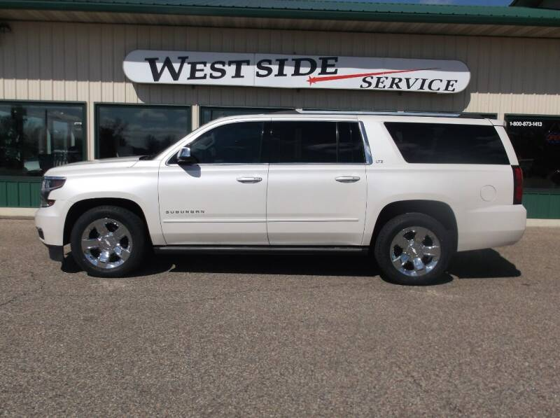 2015 Chevrolet Suburban for sale at West Side Service in Auburndale WI