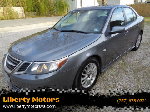 2008 Saab 9-3 for sale at Liberty Motors in Chesapeake VA