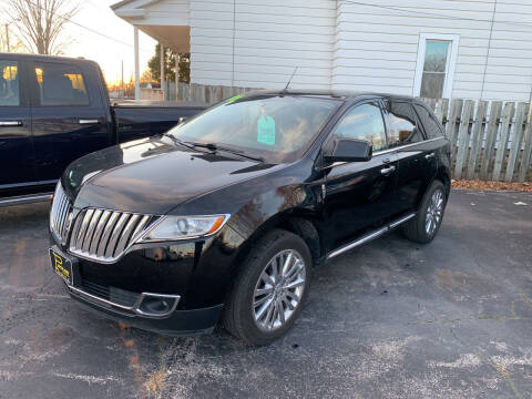 2011 Lincoln MKX for sale at PAPERLAND MOTORS in Green Bay WI