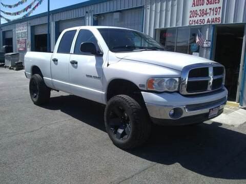 2004 Dodge Ram Pickup 1500 for sale at Primo Auto Sales in Merced CA