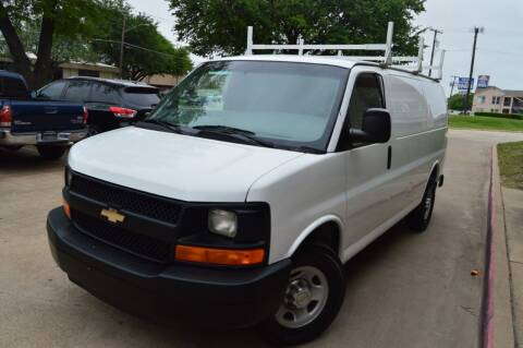 2010 Chevrolet Express Cargo for sale at E-Auto Groups in Dallas TX