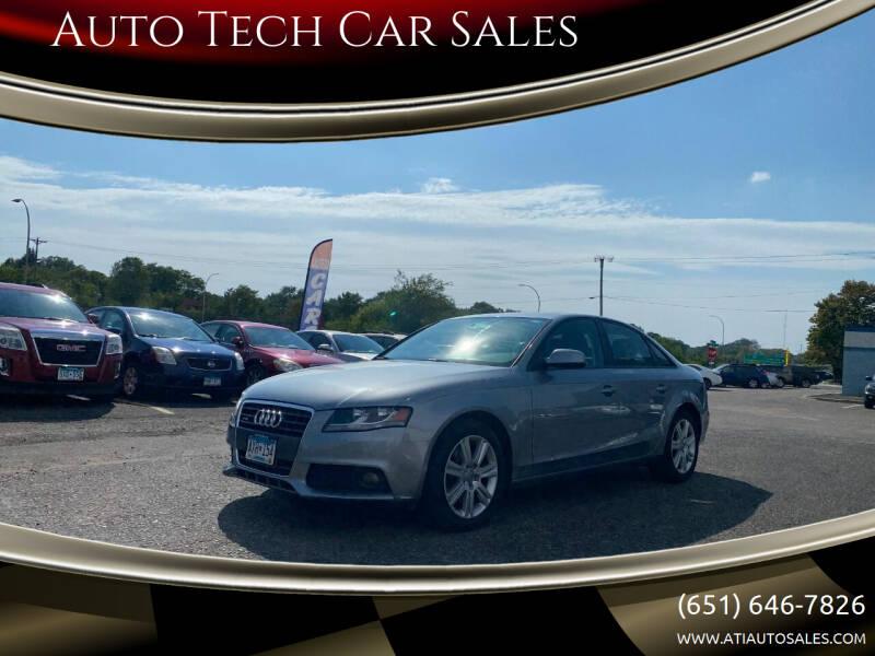 2011 Audi A4 for sale at Auto Tech Car Sales in Saint Paul MN