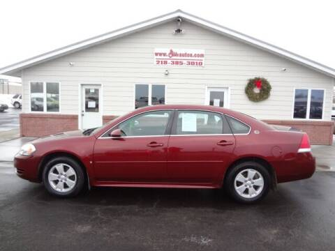 2009 Chevrolet Impala for sale at GIBB'S 10 SALES LLC in New York Mills MN