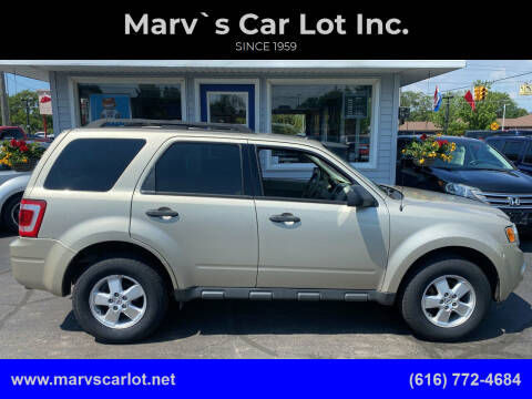 2010 Ford Escape for sale at Marv`s Car Lot Inc. in Zeeland MI