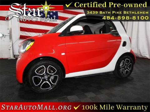 2018 Smart fortwo electric drive for sale at STAR AUTO MALL 512 in Bethlehem PA