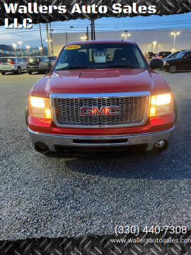 2010 GMC Sierra 1500 for sale at Wallers Auto Sales LLC in Dover OH
