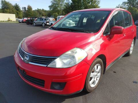 2008 Nissan Versa for sale at Cruisin' Auto Sales in Madison IN