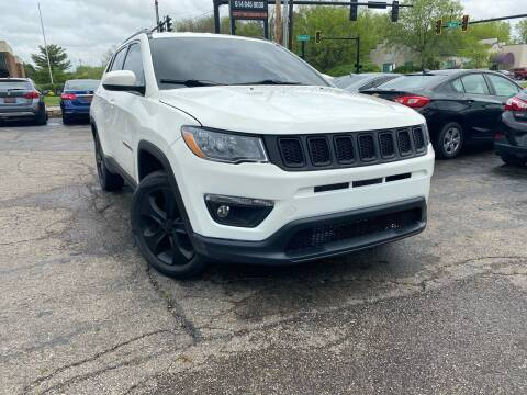 2017 Jeep Compass for sale at Cap City Motors LLC in Columbus OH