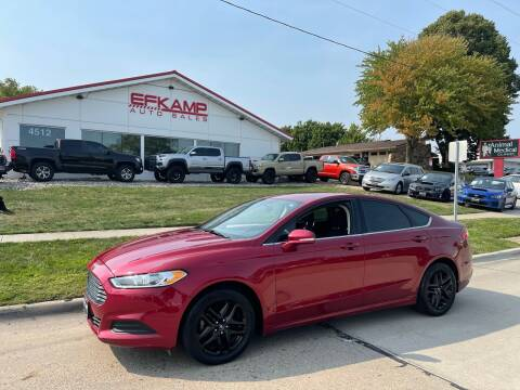 2014 Ford Fusion for sale at Efkamp Auto Sales LLC in Des Moines IA