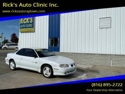 1997 Pontiac Grand Am for sale at Rick's Auto Clinic Inc. in Raytown MO