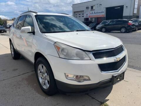 2012 Chevrolet Traverse for sale at O A Auto Sale - O & A Auto Sale in Paterson NJ