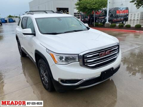 2019 GMC Acadia for sale at Meador Dodge Chrysler Jeep RAM in Fort Worth TX