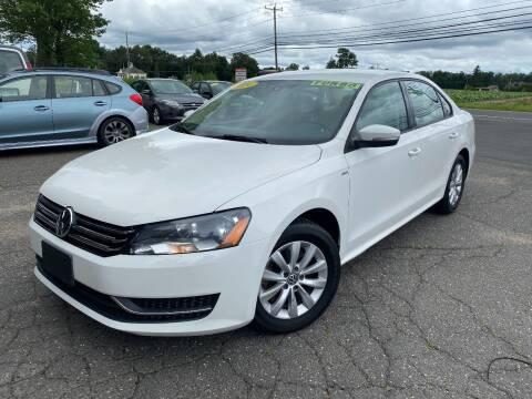 2014 Volkswagen Passat for sale at East Windsor Auto in East Windsor CT