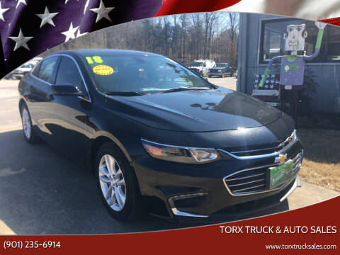 2018 Chevrolet Malibu for sale at Torx Truck & Auto Sales in Eads TN