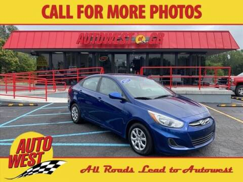 2017 Hyundai Accent for sale at Autowest of GR in Grand Rapids MI