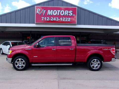 2012 Ford F-150 for sale at RT Motors Inc in Atlantic IA