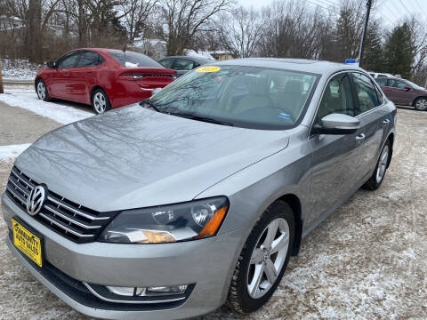 2013 Volkswagen Passat for sale at Community Auto Sales & Service in Fayette MO