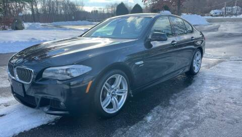 2012 BMW 5 Series for sale at Autowright Motor Co. in West Boylston MA