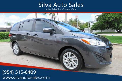 2015 Mazda MAZDA5 for sale at Silva Auto Sales in Pompano Beach FL