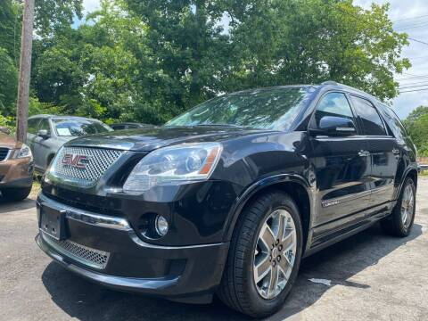 2012 GMC Acadia for sale at Car Online in Roswell GA