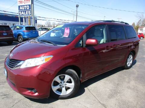 2011 Toyota Sienna for sale at TRI CITY AUTO SALES LLC in Menasha WI