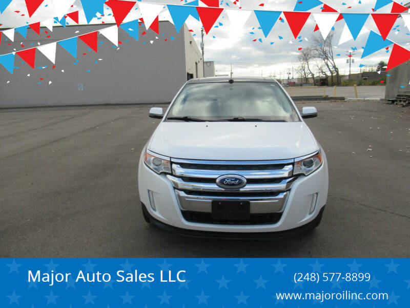 2013 Ford Edge for sale at Major Auto Sales LLC in Madison Heights MI