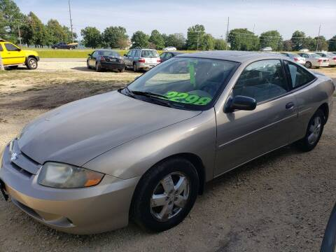 2005 Chevrolet Cavalier for sale at Northwoods Auto & Truck Sales in Machesney Park IL