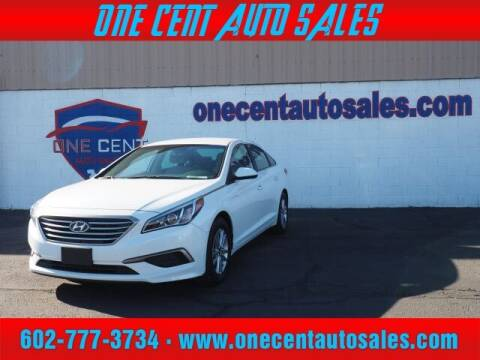 2017 Hyundai Sonata for sale at One Cent Auto Sales in Glendale AZ