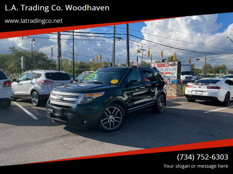 2013 Ford Explorer for sale at L.A. Trading Co. Woodhaven in Woodhaven MI