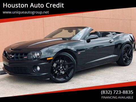 2012 Chevrolet Camaro for sale at Houston Auto Credit in Houston TX