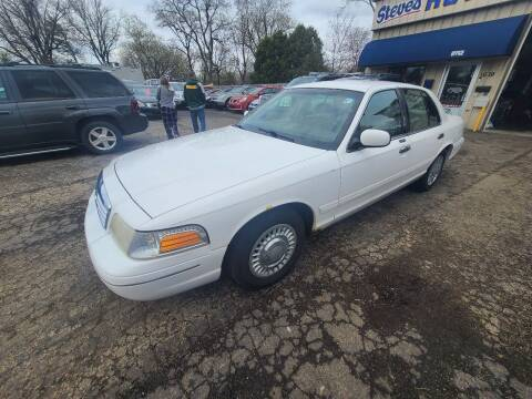 2001 Ford Crown Victoria for sale at Steve's Auto Sales in Madison WI