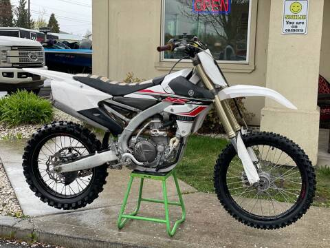2017 Yamaha YZ450F for sale at Harper Motorsports-Powersports in Post Falls ID