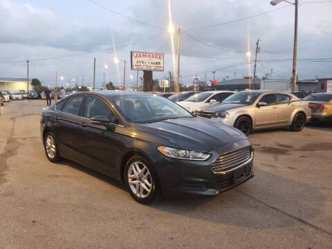 2015 Ford Fusion for sale at Jamrock Auto Sales of Panama City in Panama City FL