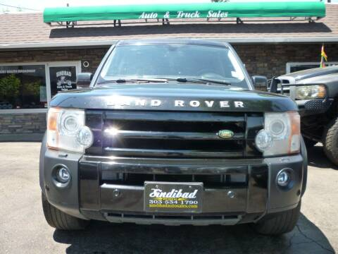 2008 Land Rover LR3 for sale at Sindibad Auto Sale, LLC in Englewood CO