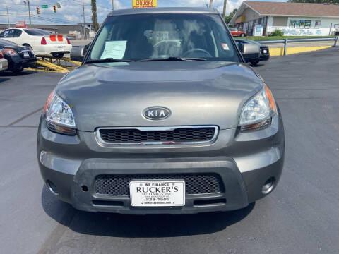 2010 Kia Soul for sale at Rucker's Auto Sales Inc. in Nashville TN