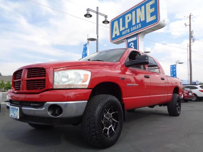 2006 Dodge Ram Pickup 1500 for sale at Alpine Auto Sales in Salt Lake City UT