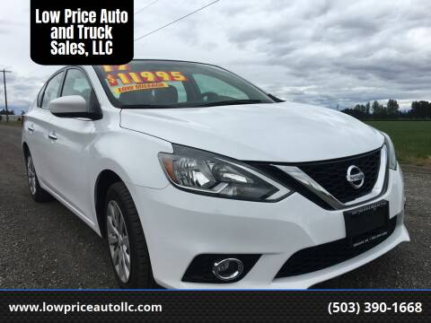 2017 Nissan Sentra for sale at Low Price Auto and Truck Sales, LLC in Salem OR