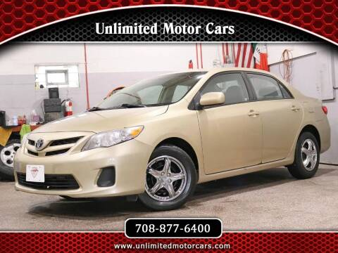 2011 Toyota Corolla for sale at Unlimited Motor Cars in Bridgeview IL