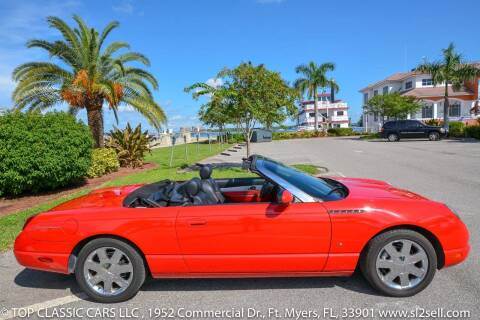2003 Ford Thunderbird for sale at Top Classic Cars LLC in Fort Myers FL