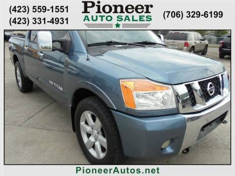 2010 Nissan Titan for sale at PIONEER AUTO SALES LLC in Cleveland TN
