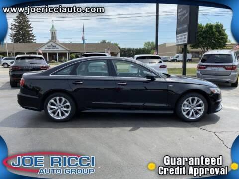 2018 Audi A6 for sale at JOE RICCI AUTOMOTIVE in Clinton Township MI